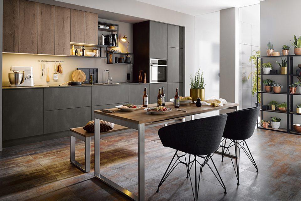 moderne keuken heavy metal Boncquet