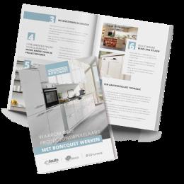Projectbouw brochure, keuken Boncquet