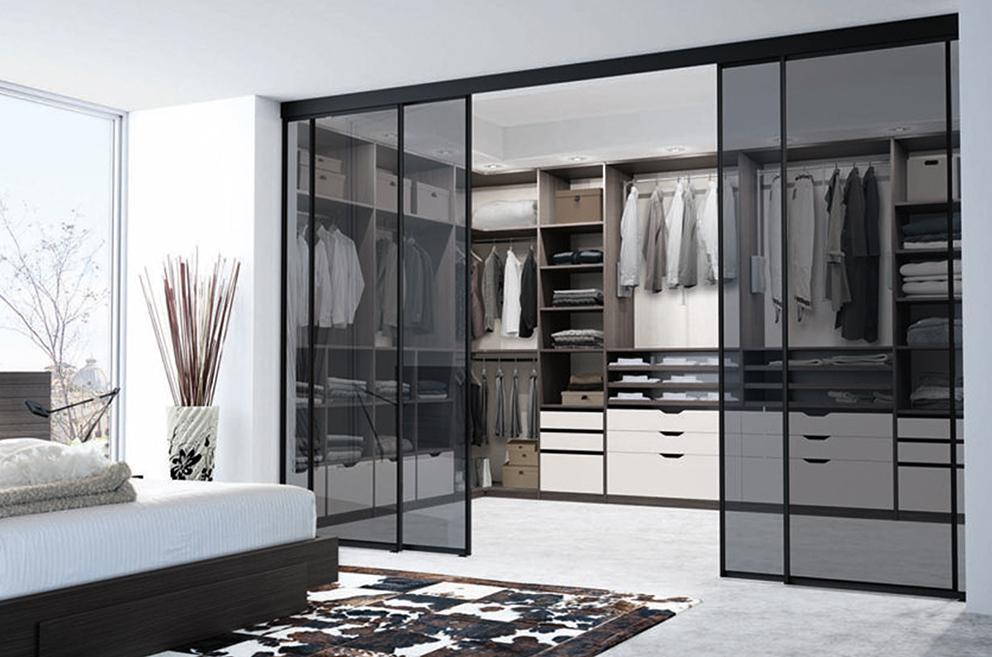 armoire dressing fermée meuble sur mesure Boncquet