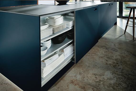 Schuifdeuren kast in een mooie keuken Next125 Boncquet, tips bij de voorbereiding