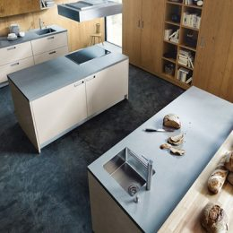 Mooie keuken Boncquet strak design kookeiland