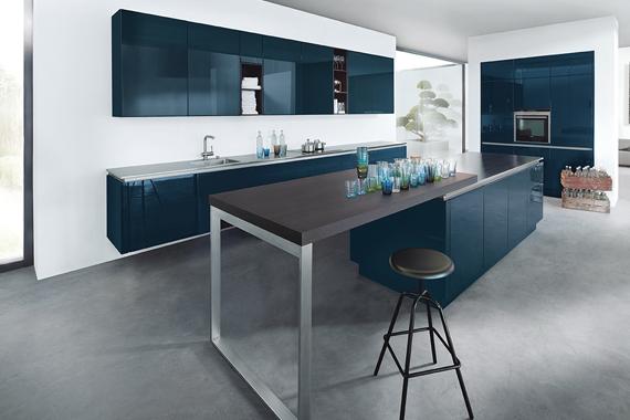 mooie industriële keuken Next125 van Boncquet, kast greeploos, tips bij de voorbereiding