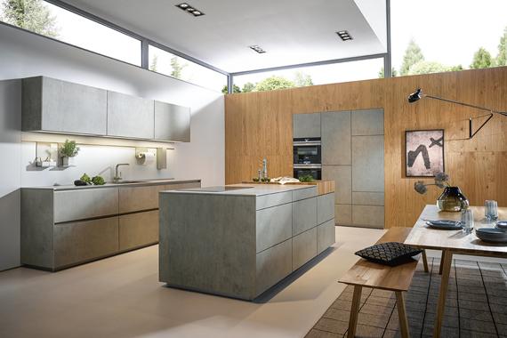voldoende afstand rond je kookeiland in je keuken van Boncquet