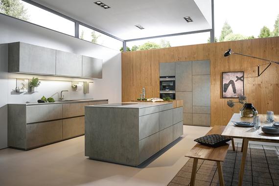 moderne keuken van Boncquet, met ultradun werkblad