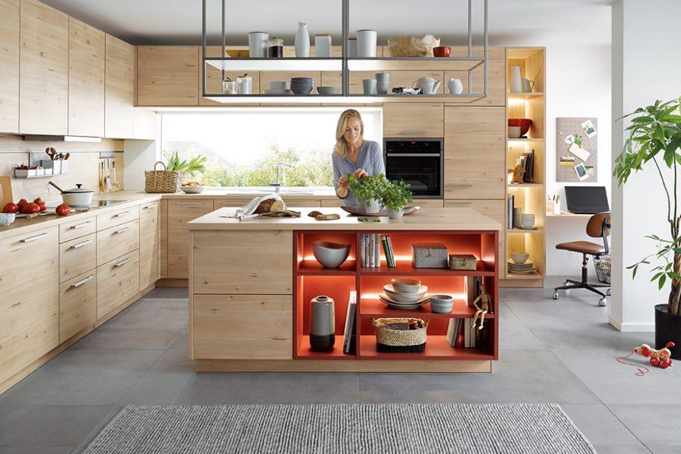 Scandinavisch design landelijke keuken eiland